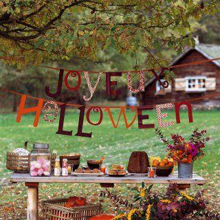 Halloween do it yourself créations faites main citrouilles fantômes - Marie Claire Idées