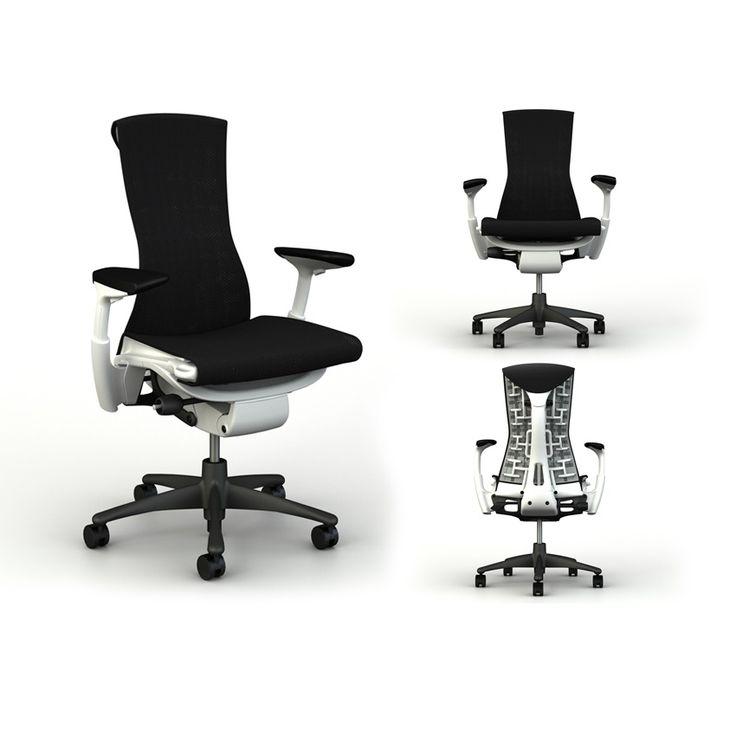 Herman Miller - Embody - moffice.dk. #kontorindretning #kontorstol #office #bæredygtig #genbrug #ergonomi