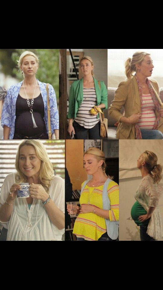 Nina Proudman maternity style <3