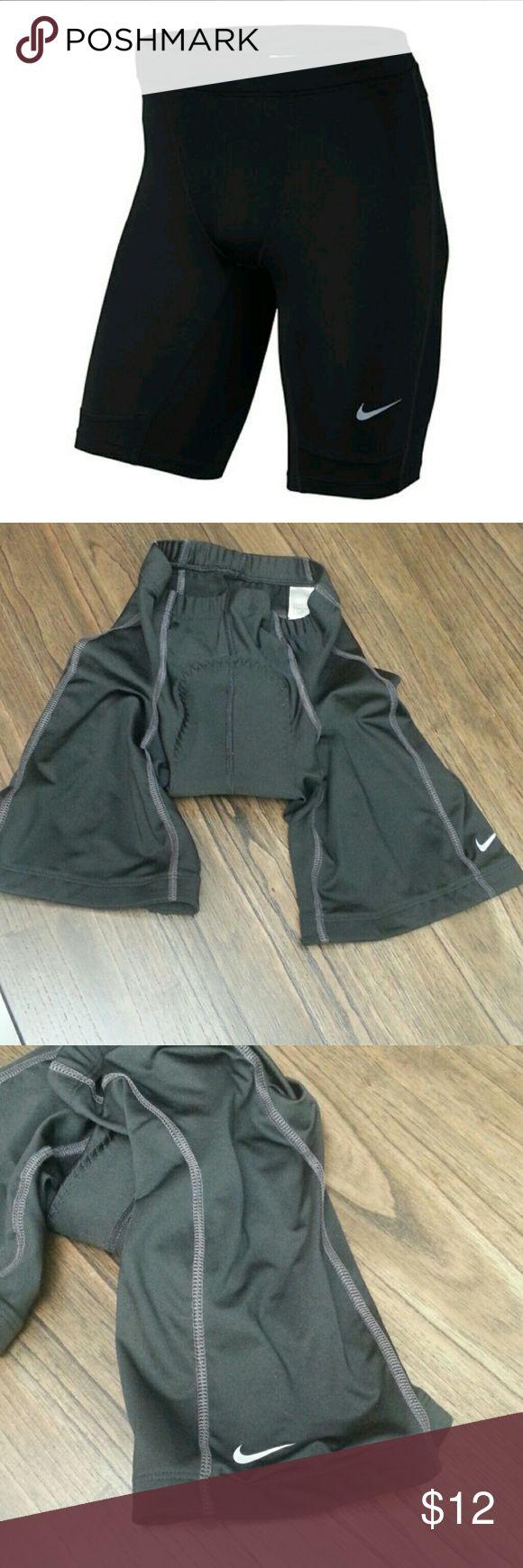 Nike Cycling Shorts with Compression Good shape. Size medium Nike Shorts