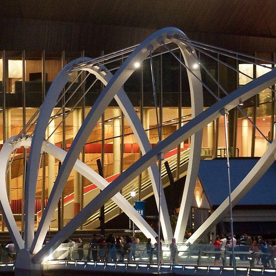 Docklands Bridge at Night