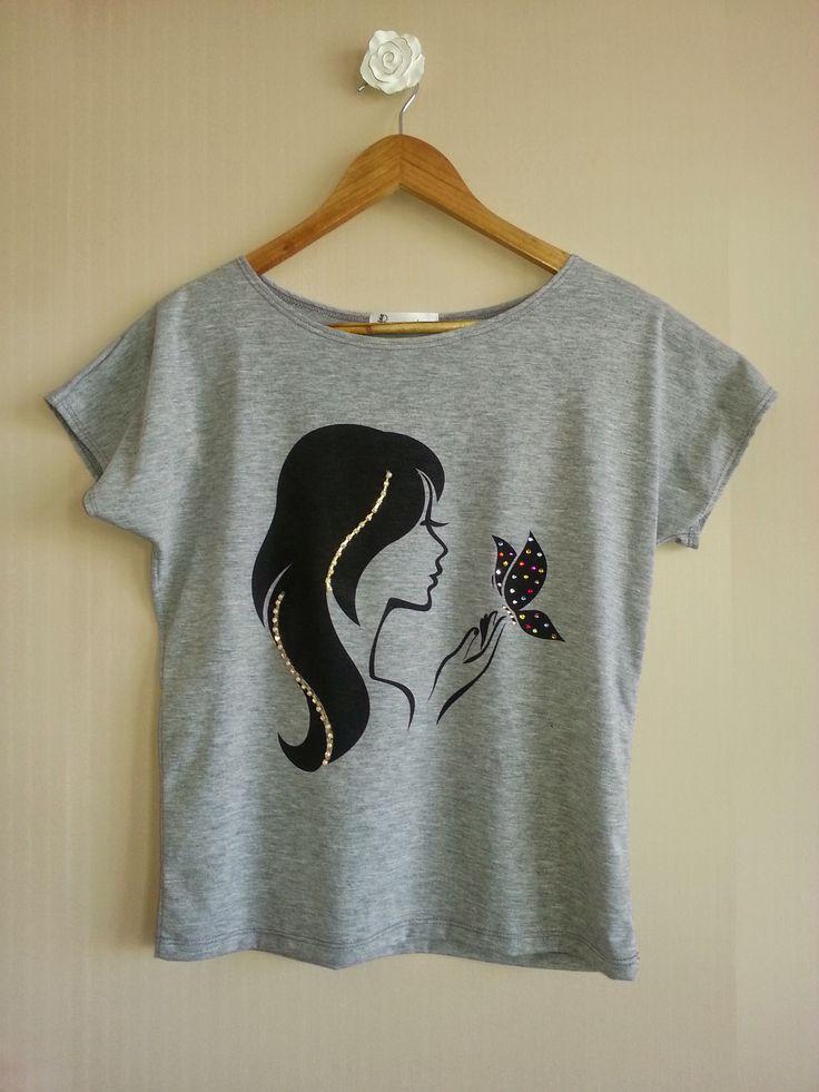Camiseta Miss Butterfly - www.missbeatriz.com.br