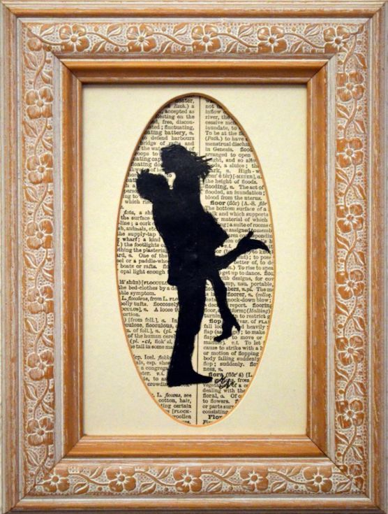 Buy Lovers on the Vintage Paper- Framed Valentine's Day Gift, Acrylic painting by Misty Lady on Artfinder. Discover thousands of other original paintings, prints, sculptures and photography from independent artists.