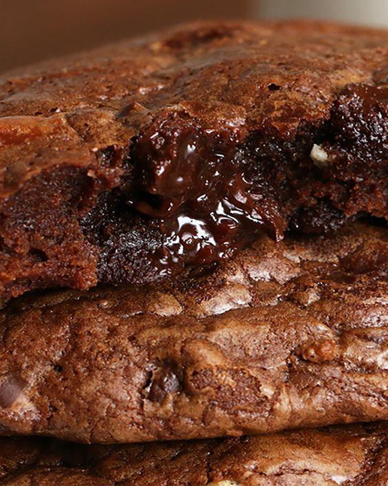 Mennyei brownie-s csokis keksz, aminek lehetetlen ellenállni