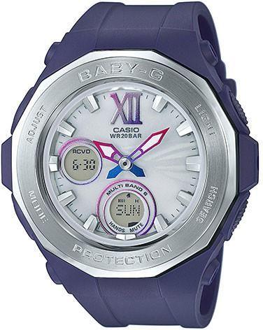 Casio Ladies Baby-G G-LIDE Solar Beach Glamping Series Watch BGA-2200-2B (BGA22002B) - Watch Centre