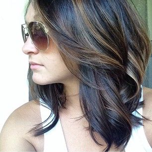 This is really pretty and subtle. I'd love to add some bronze to my hair