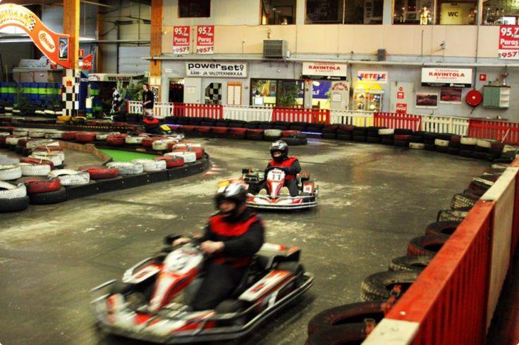 indoor go karting centre in tallinn #stagdo #tallinn