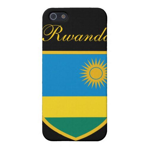 Beautiful Rwanda Flag Cover For iPhone SE/5/5s