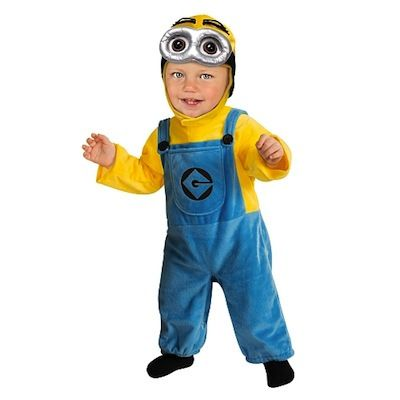 Disfraz para bebés y niños hasta 2 años de Minion Gru