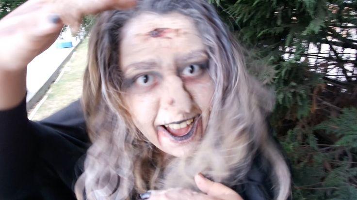 Cadılar Bayramı Makyajı Kamera Arkası-Shtriga