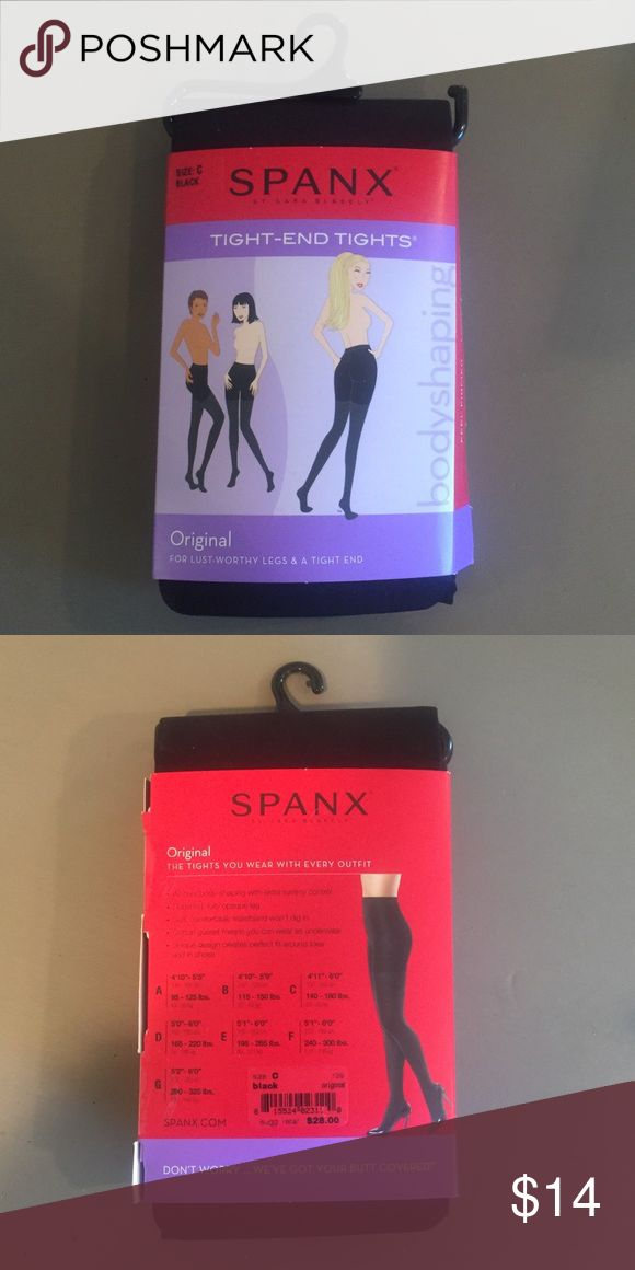 Spanx Tights Brand new spanx tight end bodyshaping tights in size C SPANX Intimates & Sleepwear Shapewear