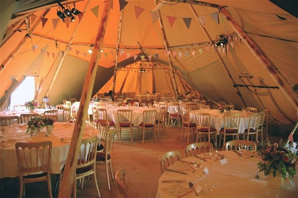 World Inspired Tents tipi - so pretty!
