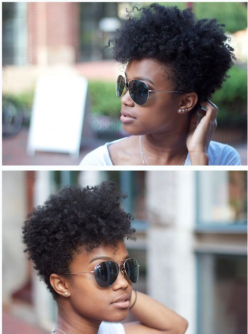 Similar to my current relaxed style... nice to think this is how my hair could look once i get enough natural growth and gradually chop out the relaxer... so excited yet nervous