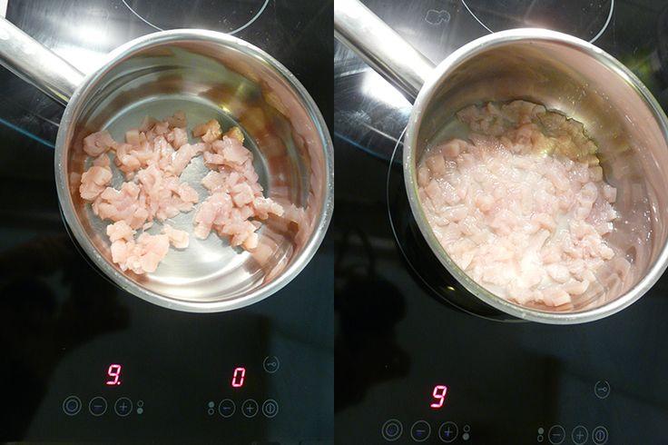 Csirkemellpép készítése