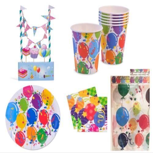 Balon Konseptli Doğumgünü Parti Seti - Doğum Günü Hediyeleri - Durbuldum.com - eğlence
