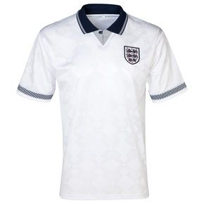 Rather go #retro than #new #England 1990 #WorldCup Finals No19 Shirt