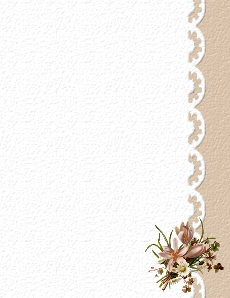 floralstat636.jpg (850×1100) - lace border with floral accent