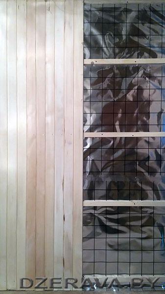 Обшивка парной бани своими руками DIY sauna steam resistance, bath siding