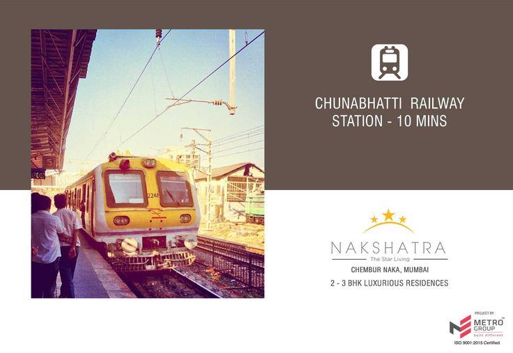 Nakshatra - The Star Living 2 & 3 BHK in the heart of Chembur Chunabhatti Railway Station - 10 mins www.metrogroupindia.com #Nakshatra #RealEstate #MetroGroup #Chembur #Mumbai