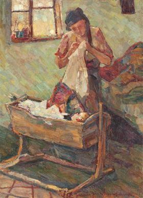 Cradle Song (Nursery Rhymes) - Rudolf Schweitzer-Cumpana
