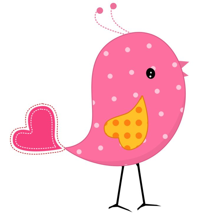 Pink and Yellow Birds - Birds08.png - Minus