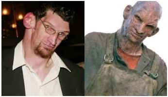 Character: Tiny Firefly, Movies: House of 1000 Corpses and The Devil's Rejects,  Year: 2003 and 2005,  Portrayed by: Matthew McGrory,  Make-up by: Wayne Toth.