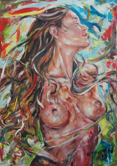 Respiro, serie 2013 - 50x70 - Olio su tela