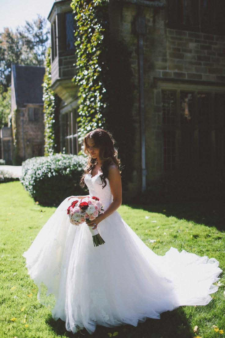 Wedding Photography in Windsor Ontario - Bride walking Into The Bright Sun- Curescu Photography