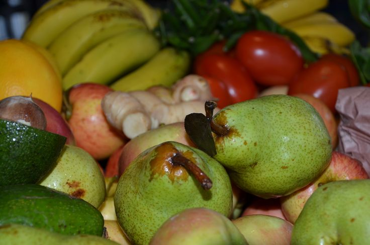 Buy some green items to ripen during the week.