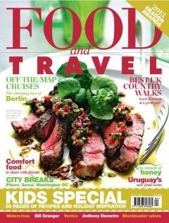 Food and Travel Magazine, April 2013 (searchable index of recipes)