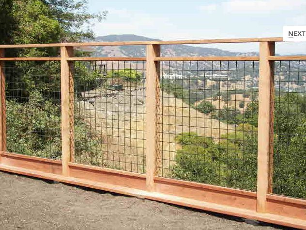 Love The Idea Of Using A Fence Like This For A Dog Run Especially For My