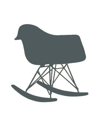 1000 id es sur le th me logo de hibou sur pinterest for Fauteuil eames tissu