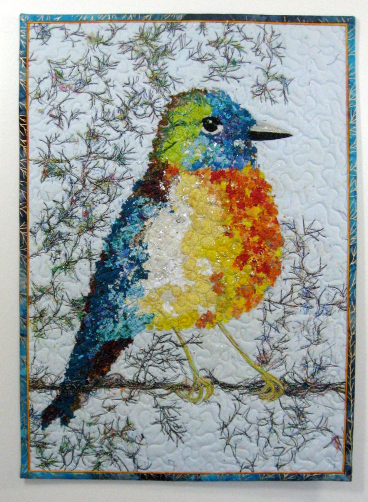 318 Best Images About Bird Quilts On Pinterest