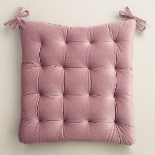 One Of My Favorite Discoveries At WorldMarket Violet Velvet Chair Cushion