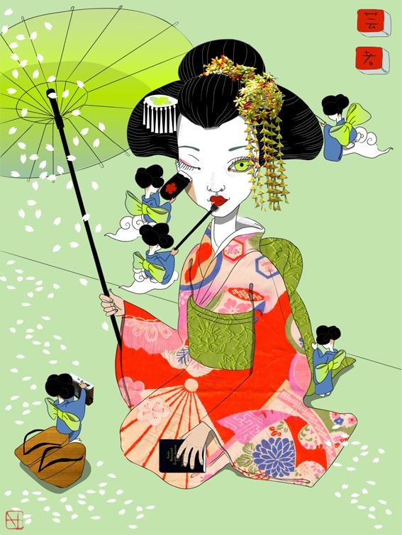 i want a geisha tattoo <3