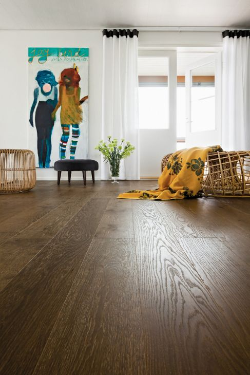 #Parquet #Timberwise Oak HW Choco50_K28 #Decor #Interiordesign #Home #Mataro #Barcelona www.decorgreen.es