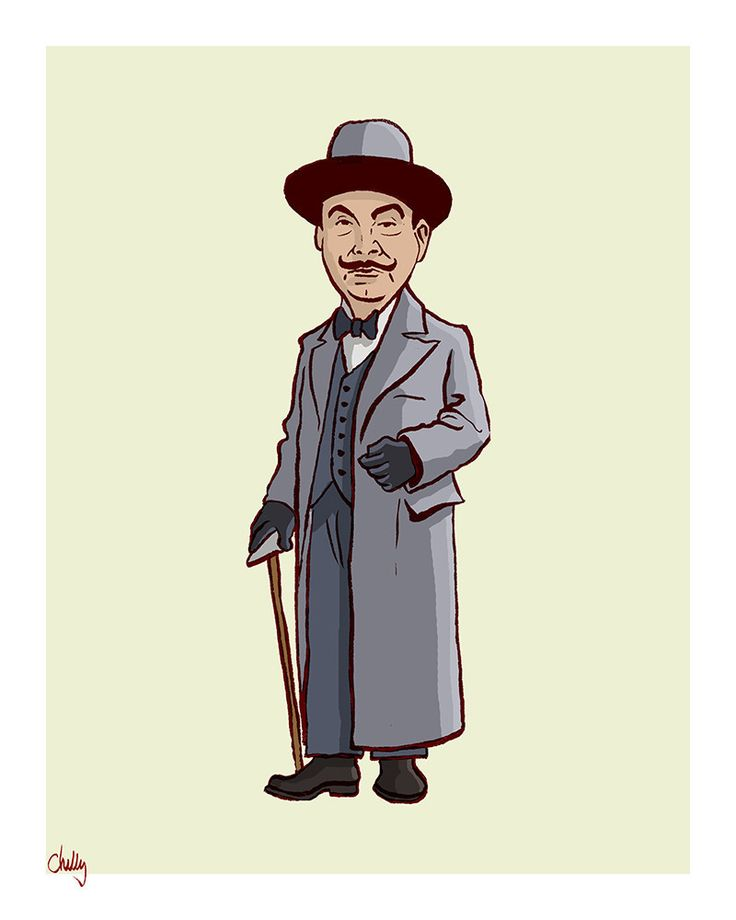 """The Good Guys: Poirot"" by Mark Chilcott"