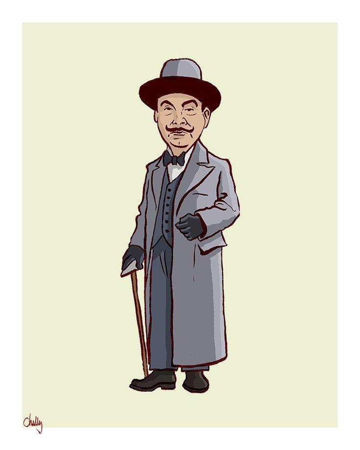 """""""The Good Guys: Poirot"""" by Mark Chilcott"""