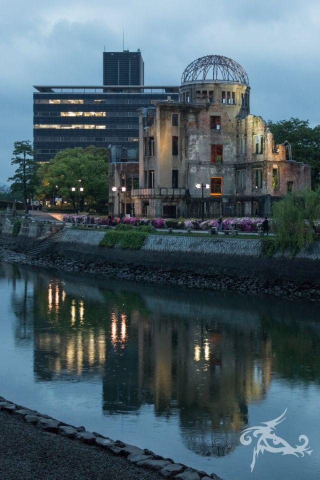 Japan II / Tag 7 / Hiroshima / Nachdenklich dort unterwegs, wo die Bombe fiel