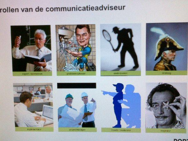 De rollen van de communicatiespecialist