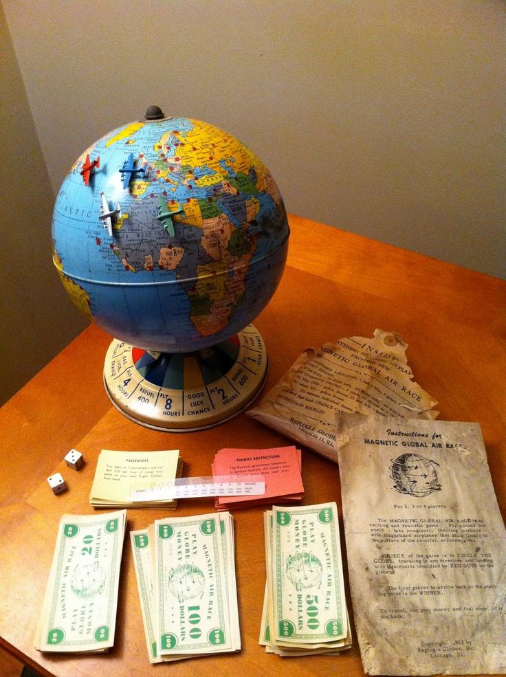 Vintage Global Air Race Game 50000 via