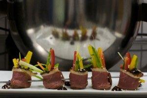Andebryst med Hoisin saus og grønnsaker
