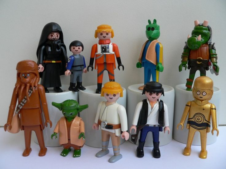 Well this would be a very talented crafty grown-up! STAR WARS Playmobil