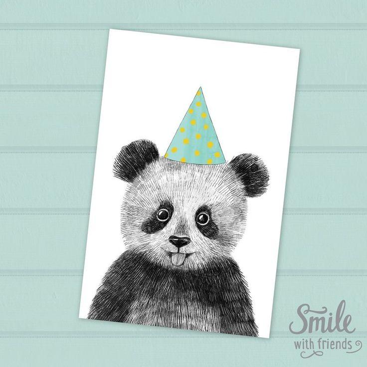 поздравительные открытки с пандами на день рождения кстати, много