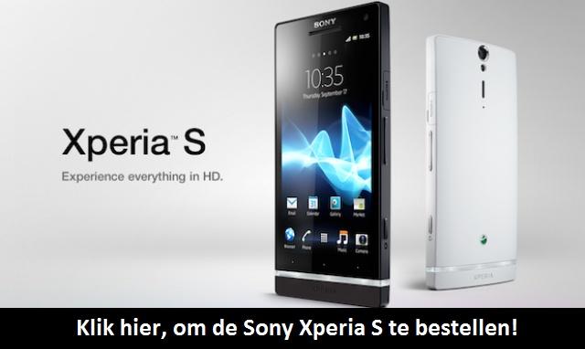 #Aanbieding Sony Xperia S met #Mobiel #Abonnement #GSM #Smartphone #Sony #Xperias