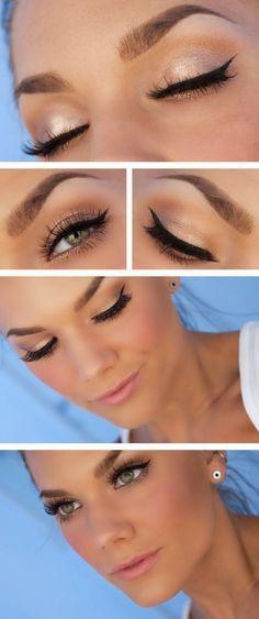 Para que tus #sombras duren más sin agrietarse, comienza tu régimen de #maquillaje con base para sombras. #Makeup #Eyeshadow