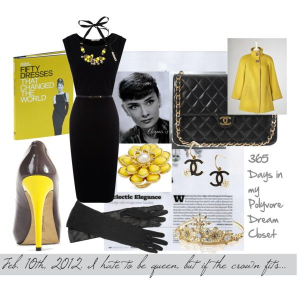 """""""I Hate to Be Queen..."""" by lesliekelley on PolyvoreStyle, Fashion Sense, Dreams Closets"""