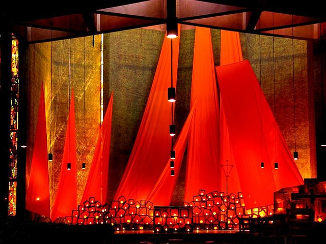 The Church of Reconciliation, Taize, France. I can't wait to return!!!