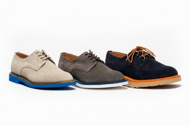 "Love the combination of colours. Mark McNairy for Norse Store 2012 ""Couple of Derby's and a Gibson Pack"""