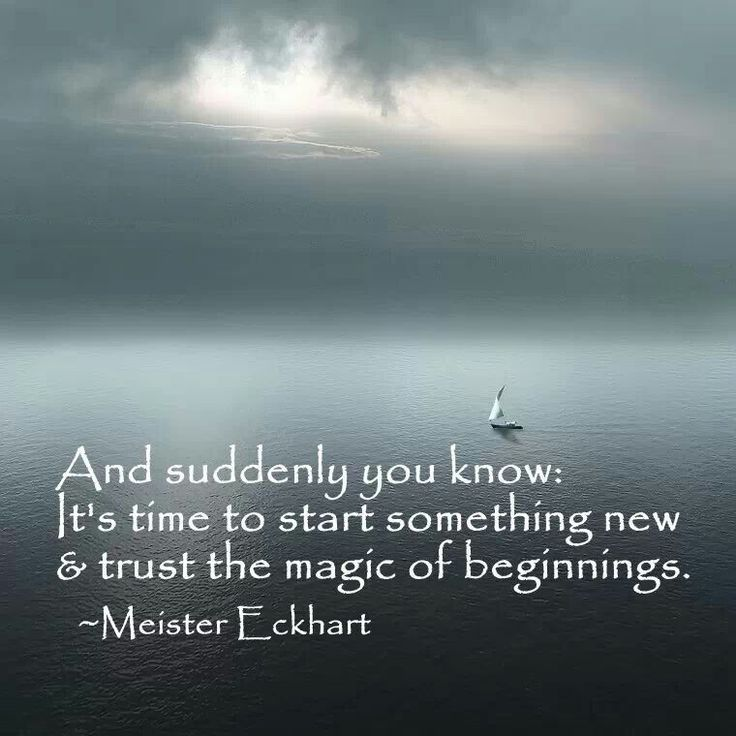 New Start Quotes: New Beginnings
